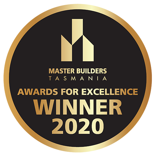Master Builders Australia - Tasmania - Excellence Awards Winner 2020